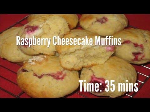 Raspberry Cheesecake Muffins Recipe
