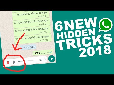 6 Cool New WhatsApp Tricks You Don't Know 2018