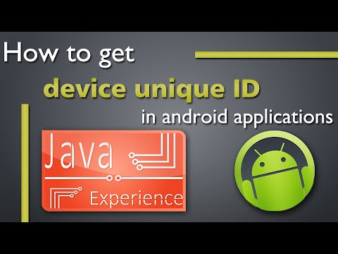 Getting Unique Device ID of an Android