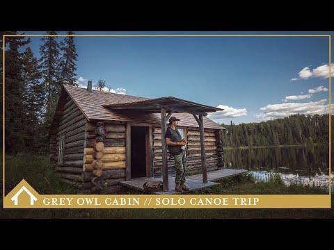 13/ GREY OWL CABIN - SOLO CANOE TRIP