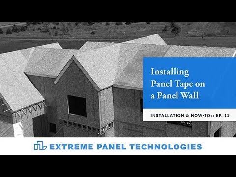 Episode: 11-Installing Panel Tape On A Wall Panel
