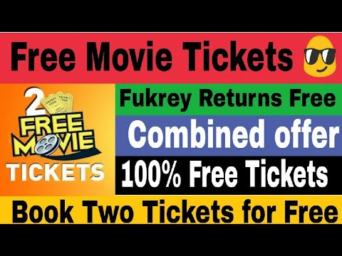 Free movie Tickets | Book any two movie Tickets for Free | Movie Loot 2017