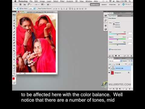 Photoshop CS5 Closed Captioned - Color Balance