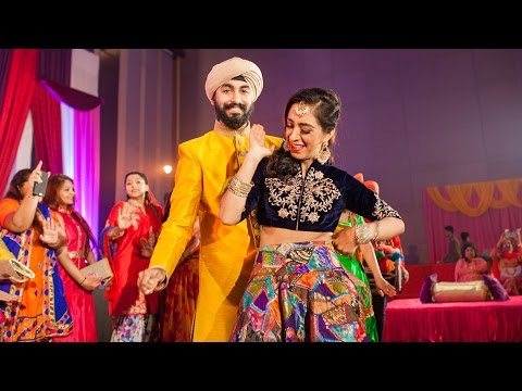 Amazing Wedding Entrance Dance Rajdev & Simran | Gal Sun Challeya | DAS JA | WONDERLAND