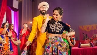 Amazing Wedding Entrance Dance Rajdev & Simran | Gal Sun Challeya | DAS JA | WONDERLAND