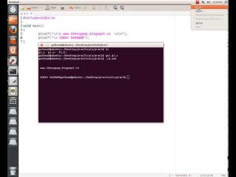 How to Easily Open Terminal through Text Editor (gedit) in Ubuntu