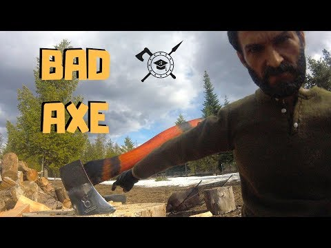 Husqvarna Hatchet complete makeover | DIY into One Bad Axe!