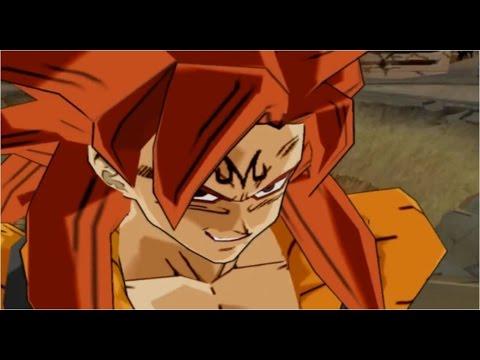 DBZ Budokai 3 Majin Gogeta Super Saiyan 4 Fusion Mod [HD]