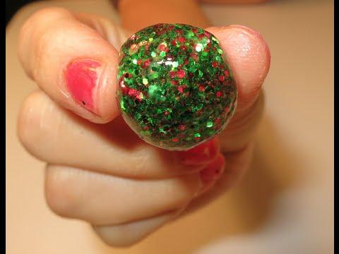 How To Make Glitter Bouncy Balls (Easy!)
