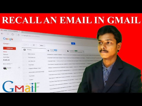Undo an Email After it Has Been Sent in Gmail