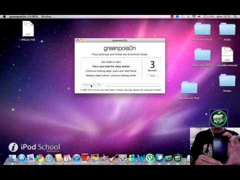 iPod School - Jailbreak 4.2.1 no Mac