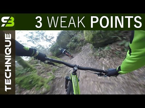Training Enduro MTB - Lesson 1. 3 Biggest Mistakes Of A Beginner Rider.