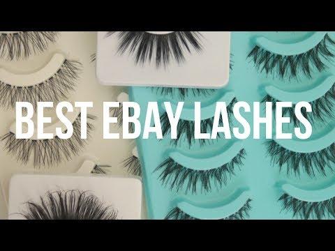 BEST EBAY EYELASHES FROM £1