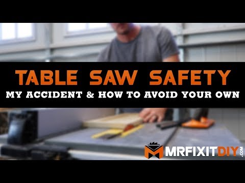 Table Saw Safety: My Accident and How to Avoid Your Own