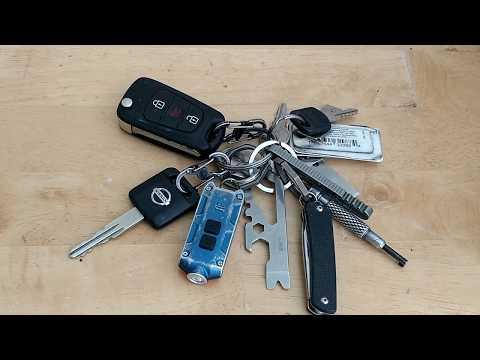 My EDC Keychain 2018