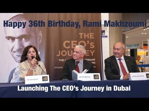 Happy 36th Birthday Rami Makhzoumi!
