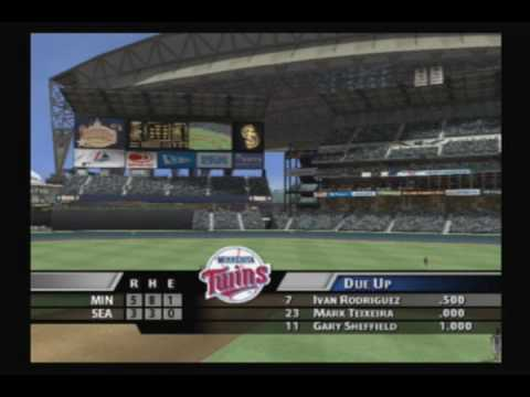 Minnesota Twins (MVP Baseball 2005) -- Game 1 @ Seattle Mariners