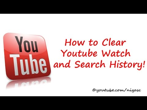 How to Delete Youtube Watch and Search History