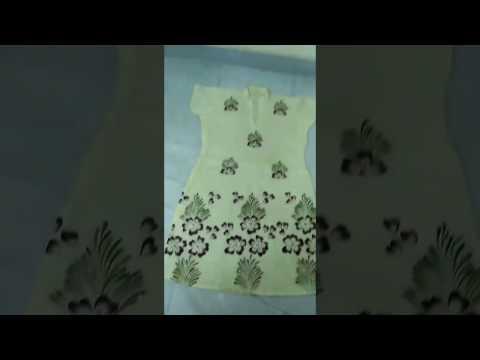 Learn Fabric Painting on kurta