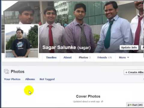 How to make cover photos private in facebook
