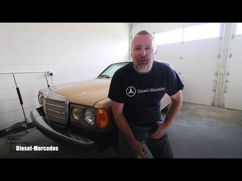 I Bought 1984 Mercedes-Benz 300CD Turbo Diesel