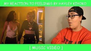 My Reaction To Feelings By Hayley Kiyoko ~ Music Video