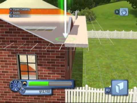 How to get an empty lot in Sims 3 & building a second storey to your house [part2]