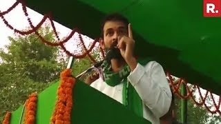 Lalu's Son, Tej Pratap Yadav, Issues Open Threat To Bihar Dy CM