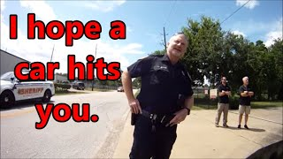 Harris County,Tx.-Good Ol Boy Deputy violates policy for his Buddies