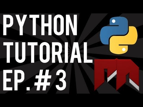 Python Tutorials - Input from the User