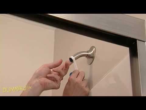 How to Install a New Shower Head For Dummies