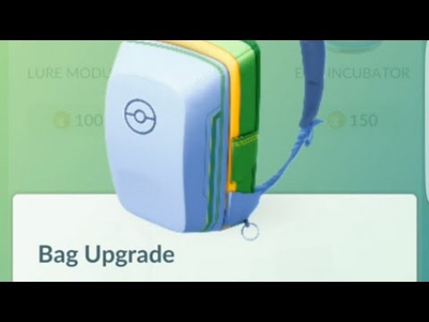 What is the Max Number of Bag Upgrades in Pokémon GO?