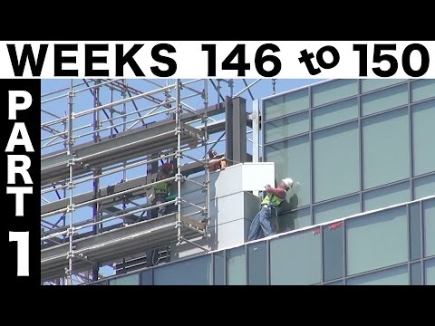 Weeks 146-150 Part 1: The Roof Screen construction time-lapse