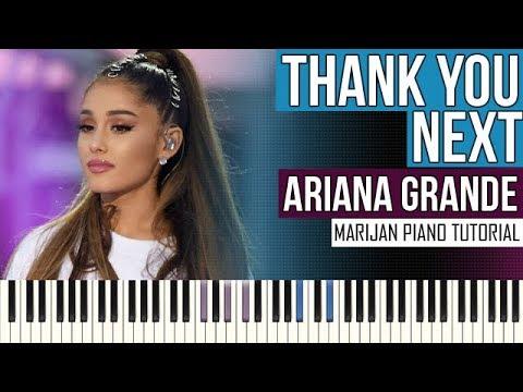 How To Play: Ariana Grande - Thank You, Next | Piano Tutorial + Sheets