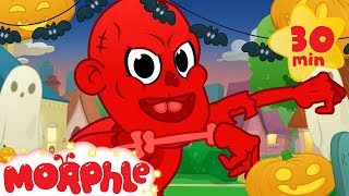 My Magic Halloween With Morphle and the witch kid! Morphle Super hero Halloween. videos for kids