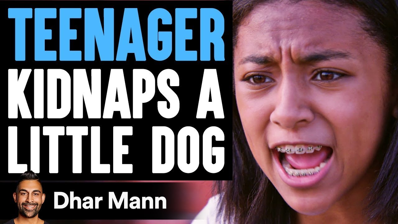 Teenager KIDNAPS A LITTLE DOG, What Happens Next Is Shocking | Dhar Mann