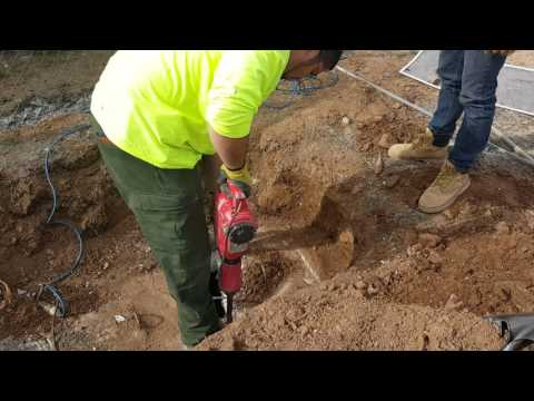 What happens if your septic manhole lid won't come off?