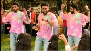 Abhishek Bachcan DANCING For Aaradhya Bachchan's Friends At Her BIRTHDAY Party