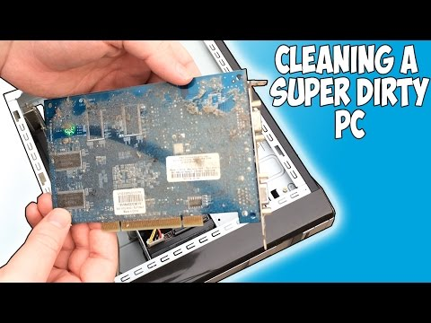 Cleaning up a Super Dirty Old PC