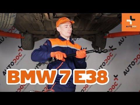 How to replace track rod end BMW 7 E38 TUTORIAL | AUTODOC