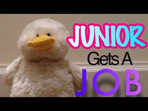 Junior Gets A Job
