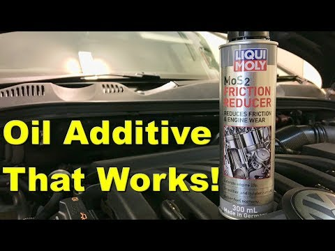 Engine Oil Additive Liqui Moly MoS2 Friction Reducer - Review