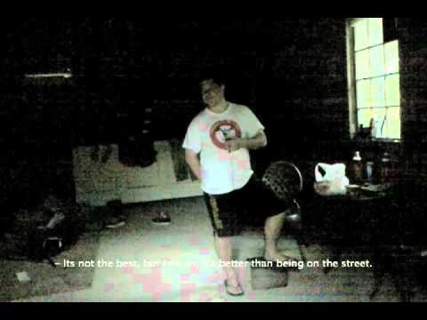 Interview with a Squatter [at the Abandoned Squatter House - NJ]