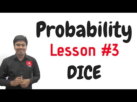 Probability_Problems Based on Dice#LESSON-3