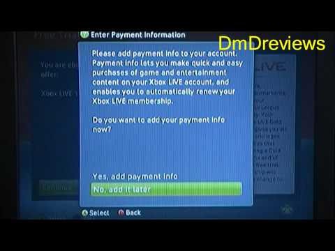 HOW TO GET XBOX LIVE FOR FREE *LEGAL*