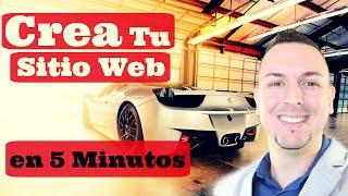 Cómo crear una página web en 5 minutos