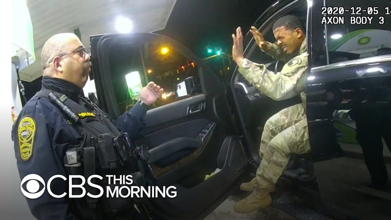 Police officer fired for pepper-spraying Black and Latino lieutenant during traffic stop