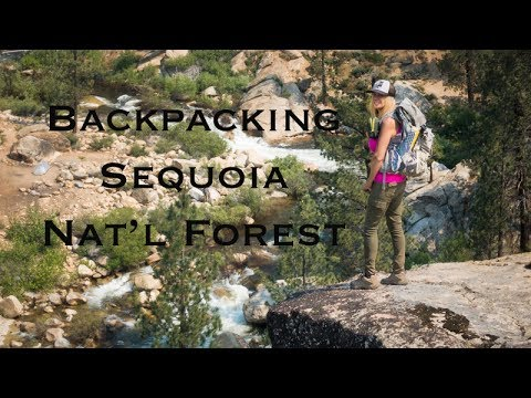 Backpacking Sequoia Nat'l Forest | Golden Trout Wilderness
