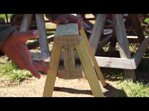 How to build a simple, sturdy sawhorse
