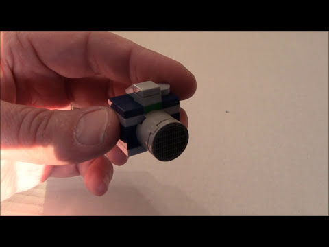Build a mini Lego Transformers G1 Reflector Accessory with BWTMT Brickworks